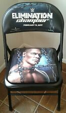 WWE Elimination Chamber John Cena Pay Per View Event Chair February 12, 2017