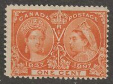 Canada 1897 #51 Diamond Jubilee Issue (Queen Victoria) MH F