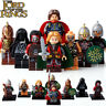 8Pcs The Lord of the Rings - Aragorn Eowyn Theoden Uruk Hais Lego Moc Minifigure
