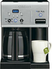 Cuisinart - Coffee Plus 12 Cup Programmable Coffeemaker Plus Hot Water Syste...