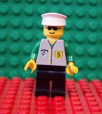 LEGO Town Jr. Bank - Black Legs, White Hat, Sunglasses BNK003  6566 6326 Minifig