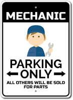 Mechanic Parking Sign, Mechanic Sign ENSA1002767