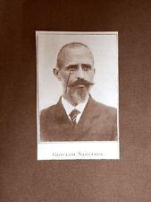 Stampa del 1923 Giovanni Sabattini Collaboratore Rivista Illustrazione Italiana