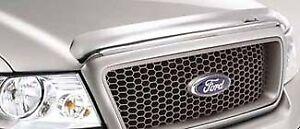 2004-2008 Ford F150 OEM Chrome Hood Air Deflector 4L3Z-16C900-G