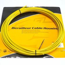 Jagwire 25 feet Shift Cable Housing, Fully Lubricated inner Tube, YELLOW, F23