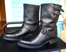 Frye Engineer boots Black VERY NICE 9.5 M excellent condition Made in USA