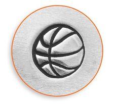 ImpressArt Basketball Steel Punch Design Stamp Sports Design Stamp
