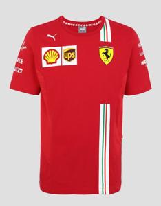 2021 Ferrari F1 Mens Team Tee