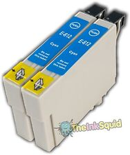2 Cyan T0612 non-OEM Ink Cartridge For Epson Stylus DX4800 DX4850