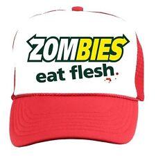 30e4ea50567 Clementine s Custom Blood Stain   Dirt Dead Zombies Cap Hat Unisex Slate.   19.99. 4 left · ZOMBIES EAT FLESH Subway Spoof Trucker CAP Hat Walking Dead  rock ...