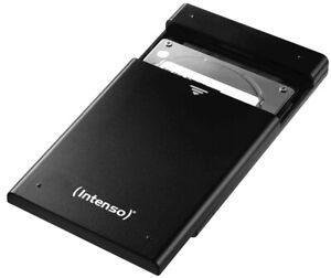 Intenso Leergehäuse HDD Festplatte Gehäuse 2,5 Zoll USB 3.0 schwarz