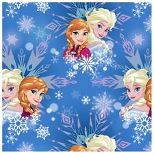 On SALE Disney Frozen Sisters Winter Magic Snowflakes Frozen Fabric By The Yard