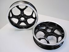 2 x vespa gt gts gtv mp3 125 200 250 300 wheel wheels front rear both pair set