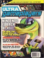 Ultra Gameplayers April 1998 Gex 64, Resident Evil 2, Zelda 64 VG 062416DBE