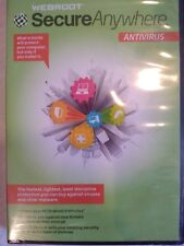 Webroot Secure Anywhere Antivirus 2012 w/keycode for Windows - NEW!