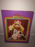 Vintage 1979 THE MUPPET SHOW Miss Piggy Portfolio Pocket Folder Henson's Muppets