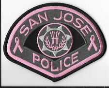 San Jose Police Department, California Pink Patch Project (2016 Version)