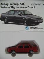 Wiking/VOLKSWAGEN (26b) VW Passat Lim. (1993) mit Telefonkarte 1:87/H0 NEU/OVP