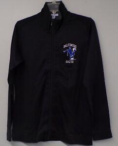 NFL Football Baltimore Colts Logo Ladies Fleece Jacket XS-4XL New