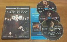 Mr. Selfridge: Season 2 (DVD, 2014, 3-Disc Set) PBS Masterpiece tv show series