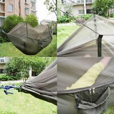 Double Person Outdoor Travel Camping Tent Hanging Hammock Bed With Mosquito Net