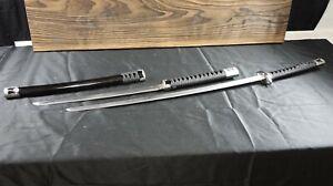 New Musha Musashi Twin 2 in 1 Samurai Swords Sword Katana Wakizashi Set