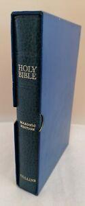 Vintage Masonic Bible ~ King James Version ~ See Photos (D4.GA)
