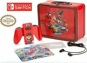 Nintendo Switch Collectible Lunchbox Kit Super Mario Odyssey - Character Splash