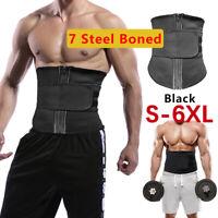 Men Abdomen Fat Burner Beer Belly Body Shaper Slimming Waist Trimmer Belt Vest