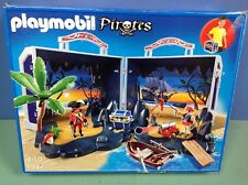 (O5347) playmobil Coffret pirates transportable ref 5347 en boite