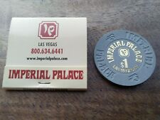 More details for las vegas imperial palace chip and matches