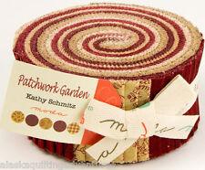 "Moda FABRIC Jelly Roll ~ PATCHWORK GARDEN ~ by Kathy Schmitz 40 - 2.5"" strips"