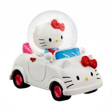 Universal Studios Hello Kitty Driving Miniatur Water Globe NEU