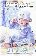 Spinrite Books 160032 Bernat Its a Boy Baby Coordinates