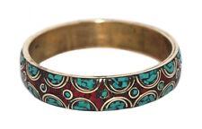 Coral Bracelet Turquoise Bracelet Boho Bracelet Tribal Bracelet Bangle
