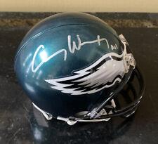 Carson Wentz signed mini helmet