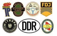 DDR Aufkleber Set Ossi VEB FDJ Auto Osten für Trabbi Simson Schwalbe Lada #692