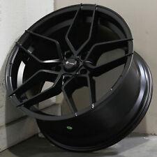 18x9.5 Matte Black Wheels Vors LP1 5x108 35 (Set of 4)  73.1