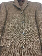 38R Polo By Ralph Lauren (Italy) Men's 4 Bttn Wool Blazer Jacket Chestnut Mint!