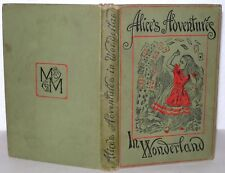 Alice adventures in wonderland BOOK  DATED 1904  PEOPLES EDITION  Lewis Carroll.