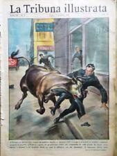 La Tribuna Illustrata 6 Gennaio 1952 Cuore Universo Ascari Fangio Coppi Robinson