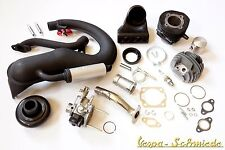 VESPA Tuning Kit V50 - Nivel 2 - Cilindro DR 75cm³ Carburador Escape 50N Special