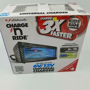 Schumacher Charge N Ride Universal Battery Charger 6V 12V Ride On Toys CR6 New
