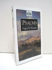 The Message, Psalms by Eugene H. Peterson