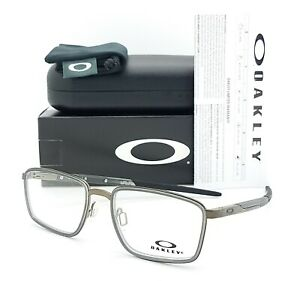 NEW Oakley Spindle RX Prescription Frame Pewter OX3235-0252 52mm AUTHENTIC 3235