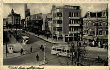 Utrecht Niederlande Holland alte AK 1940 Neude met Potterstraat alte Busse Autos