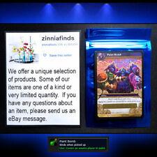 Paint Bomb Loot Card World of Warcraft WoW PvP TCG Code Icecrown + BONUS Card!