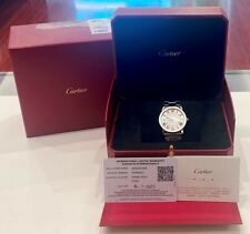 36Mm Stainless Steel Watch B&P Cartier Brand New Ronde Solo Midsize