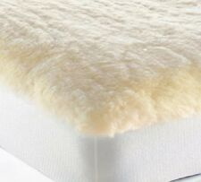 Mattress Pad Wool King Snugfleece Elite Comfort Bed Topper USA HypoAllergenic