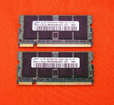 Samsung 8GB 2x 4GB PC2-6400S 6400 800MHz Dual SoDimm Laptop Notebook DDR2 Memory